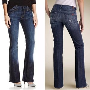 NEW 7 for All mankind Flare contour jeans 26""
